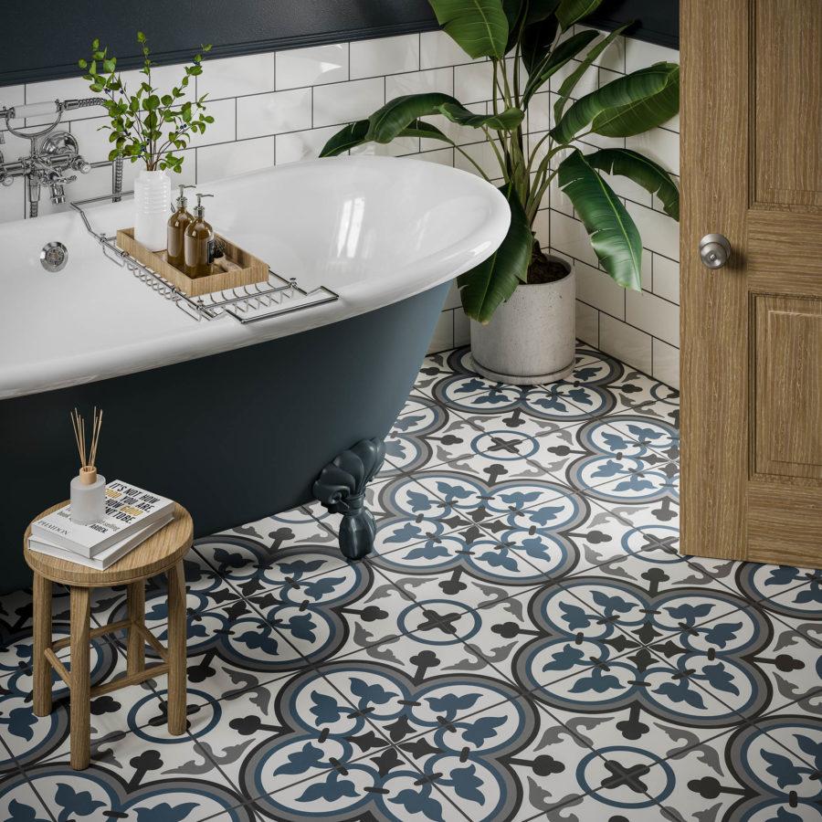 Patterned Tiles 3