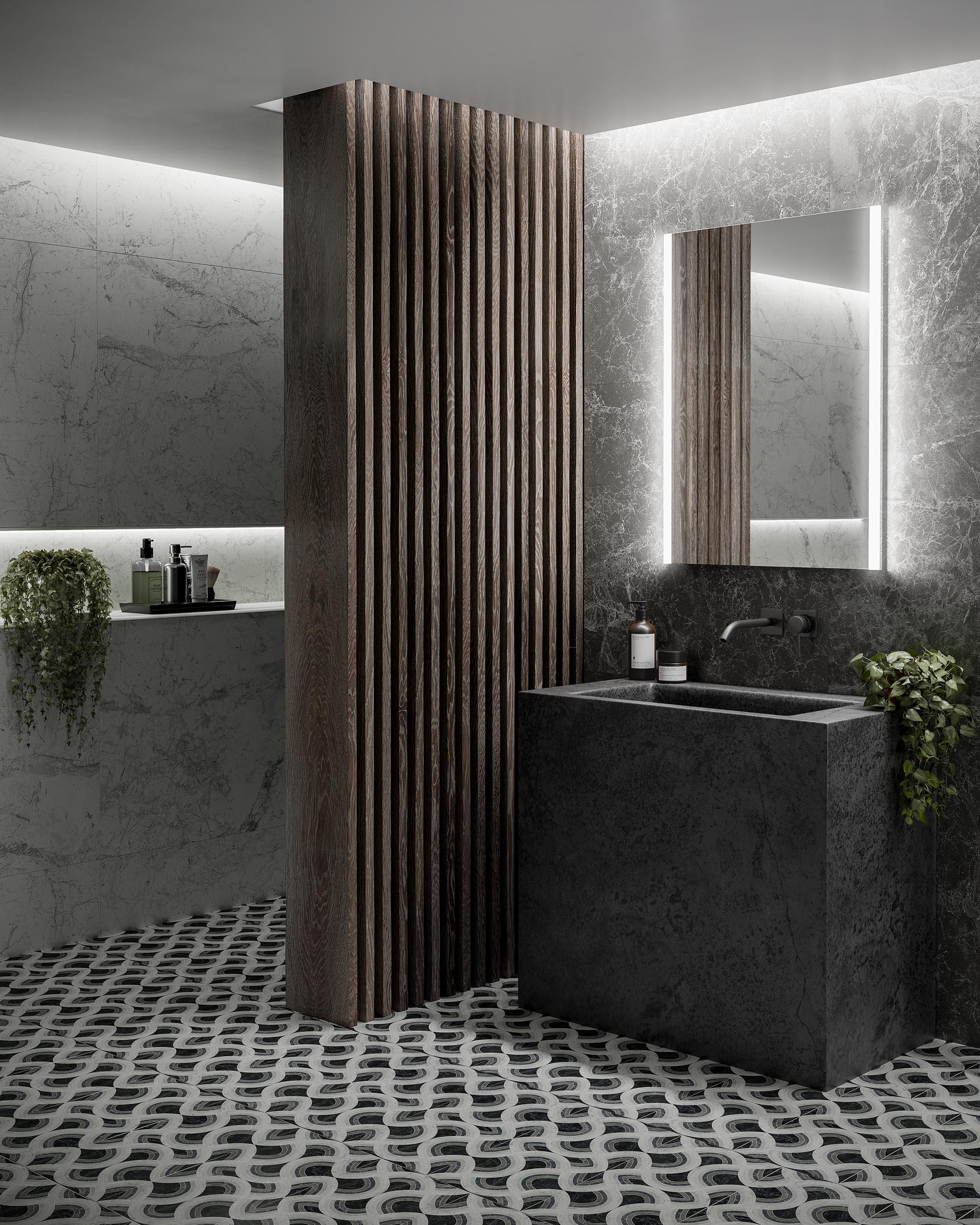 Illuminated Bathroom Mirrors and Lights 1