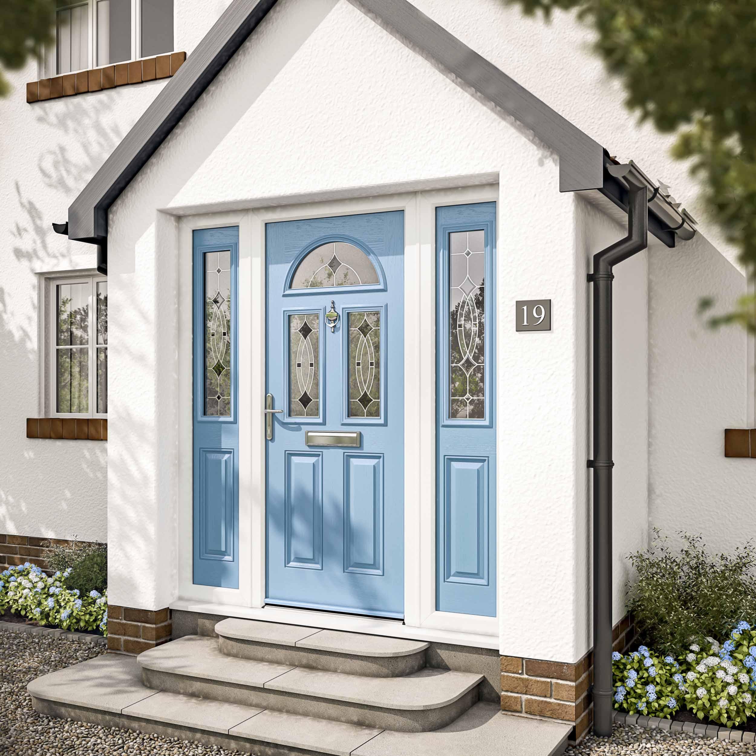 Exterior CGI Front Doors 2