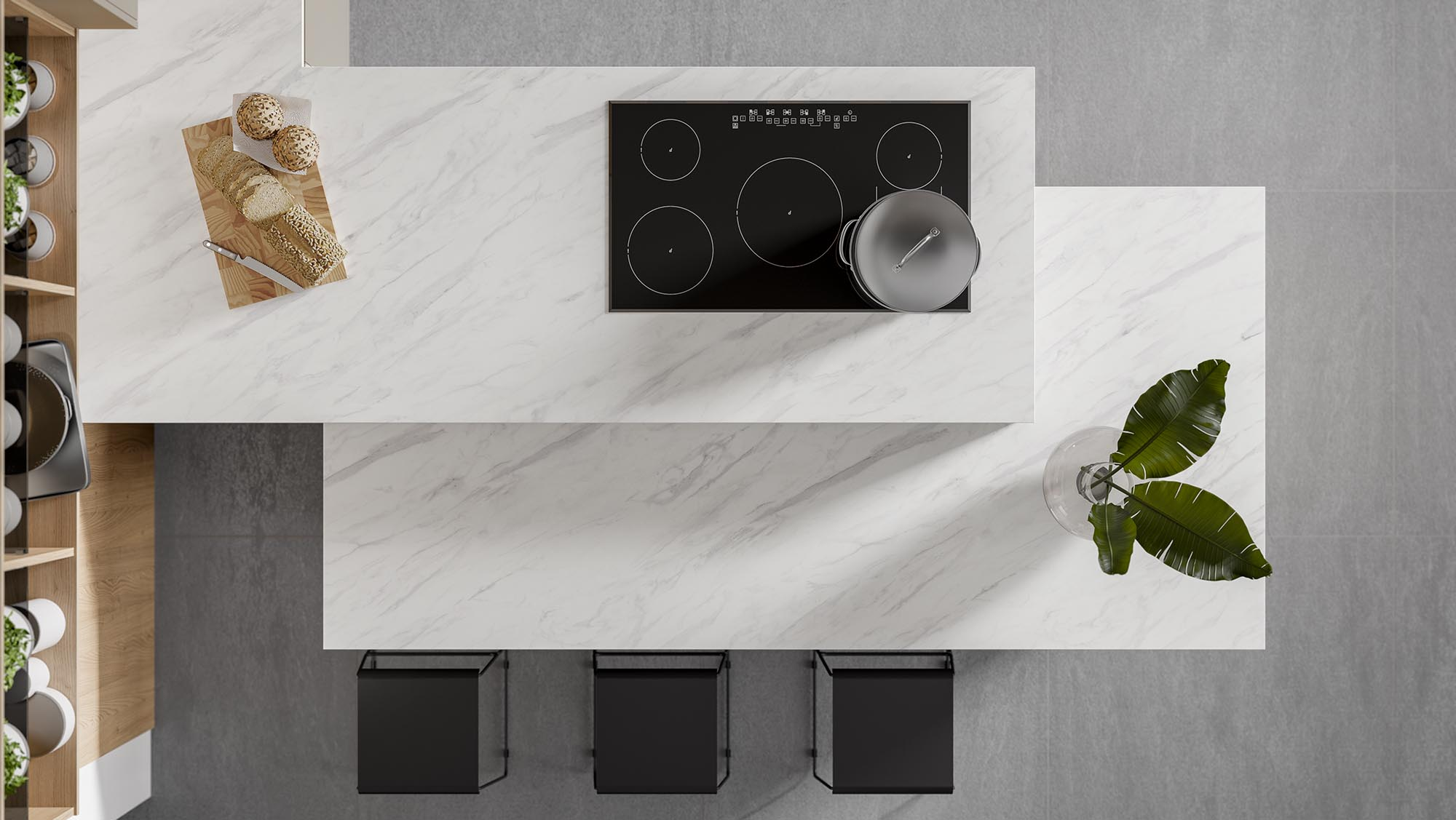 Multi Textured Kitchen Imagery 2